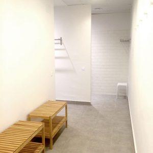 Vestidors i dutxes